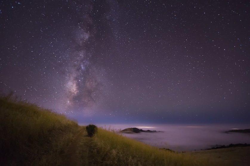 Casey McCallister Starry Landscape