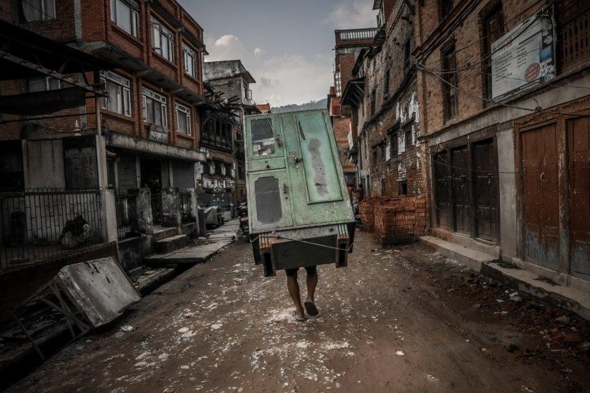 "Emerging Talent Jury Winner: Turjoy Chowdhury, ""Nepal Quake Aftermath"""