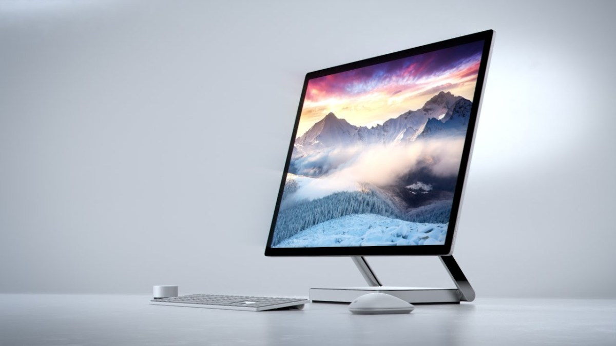 Take a Look at Microsoft's New Surface Studio, A Touchable Totally Immersive Digital Workspace