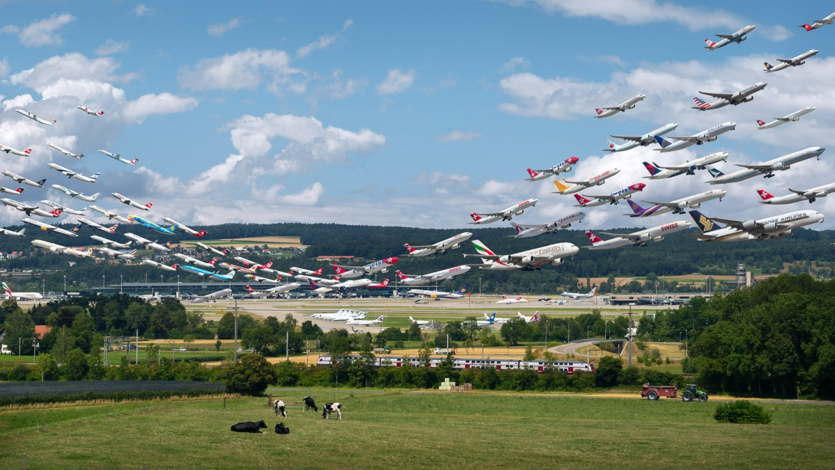 Mike Kelley's 'Airportraits' Are the Single Most Impressive Commercial Airline Photos We've Ever Seen