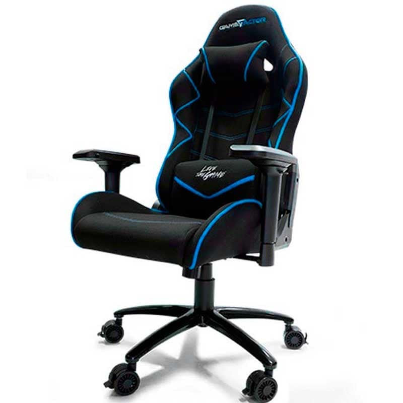 Silla Ergonomica Pc Silla Gamer Pc Game Factor Ergonomica Reclinable Cgc600 Azul