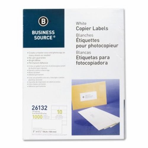 Business Source Shipping Labels, 2\