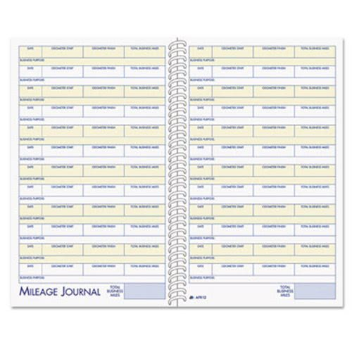 Adams Vehicle Mileage and Expense Book ABFAFR12