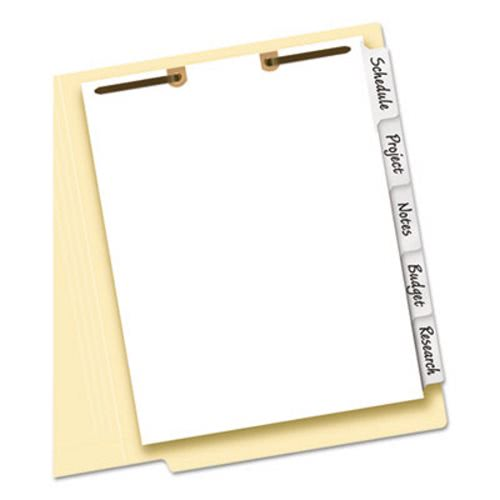 Avery Big Tab Write-On Classification Folder Dividers AVE13160