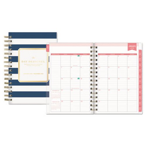 Blue Sky Day Designer Daily/Monthly Planner BLS103623 - daily monthly planners