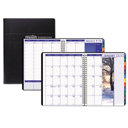 Doolittle Earthscapes Weekly/Monthly Planner, 8-1/2 x 11 HOD273