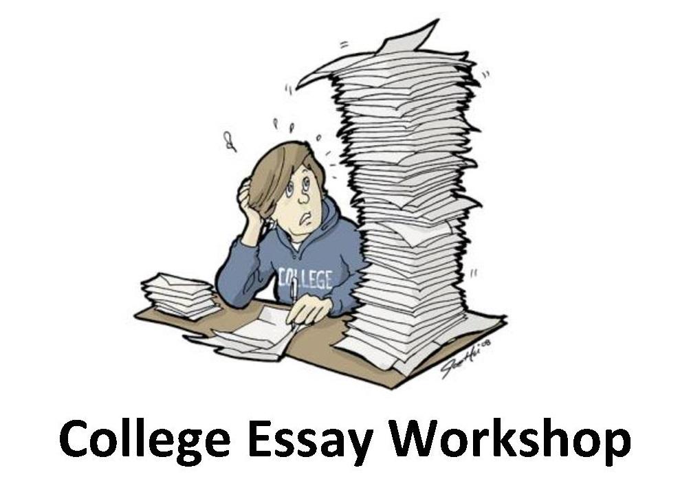 Mr Petersen\u0027s College Essay Workshop Announcement Post
