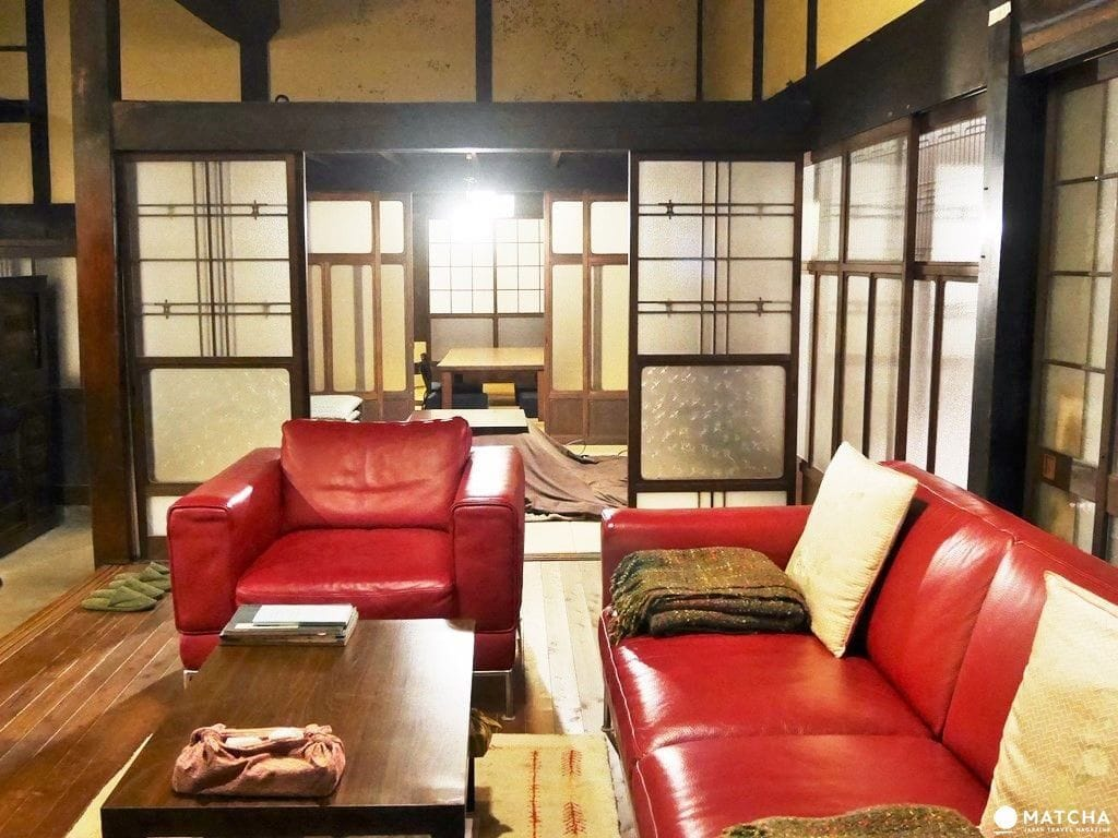 Sofa Tax Japan Staying At A Traditional Japanese Home In Village Maruyama