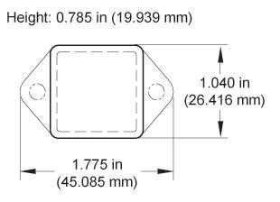 Standard Sensor Specifications