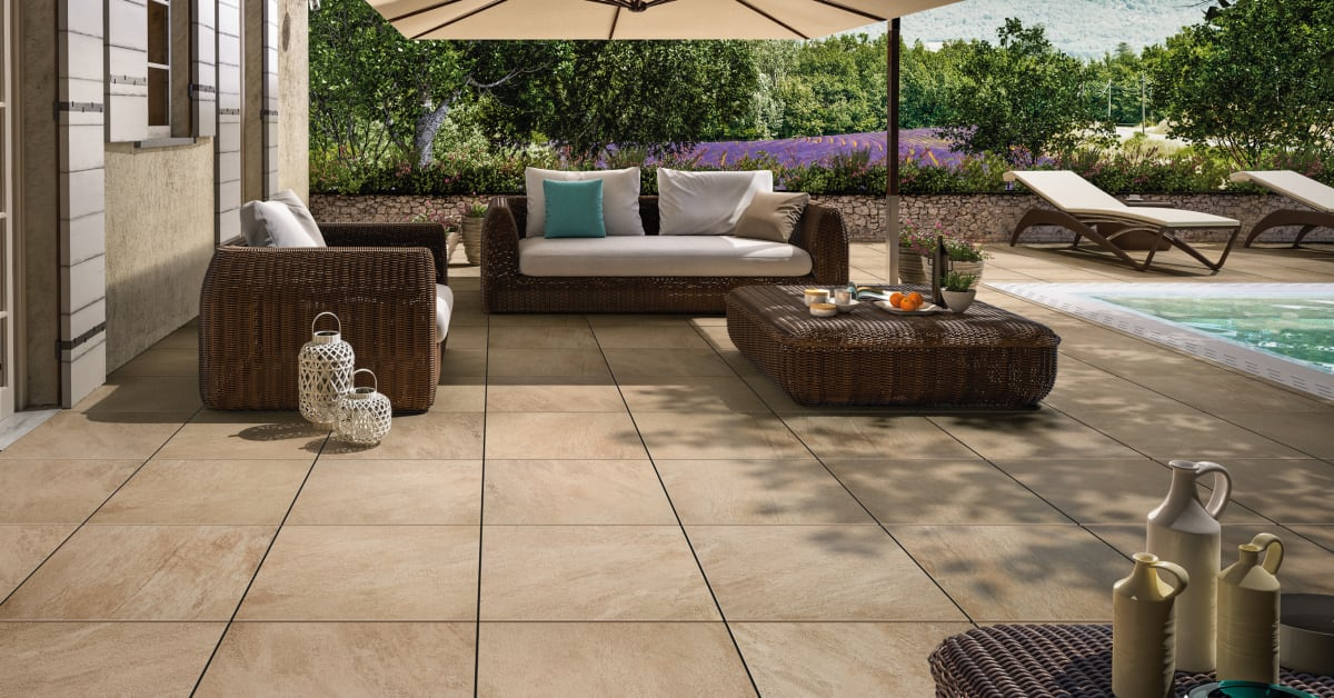 Aussenterrasse Fliesen Outdoor Tiles - Harmony Indoors And Out - Villeroy & Boch