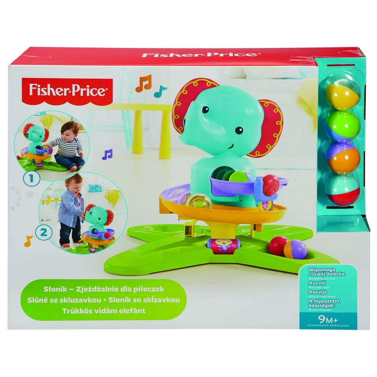 Silla Aprendizaje Fisher Price Fisher Price Elefante Sorpresas Mattel