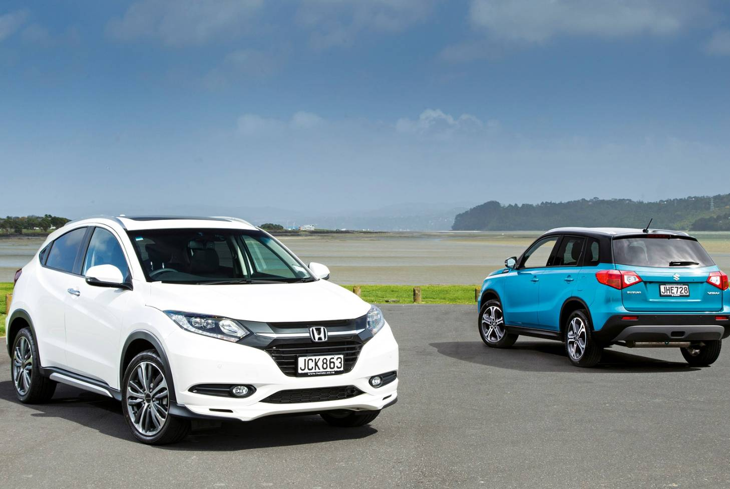 Honda Hrv Avis Head To Head Honda Hr V V Suzuki Vitara Stuff Co Nz