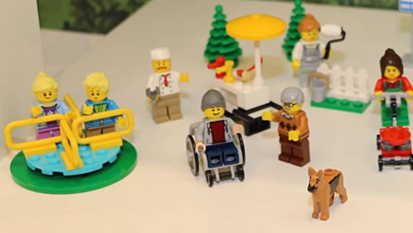 Baby Pram Nz Disability And Visibility Lego Reveals First Minifigure