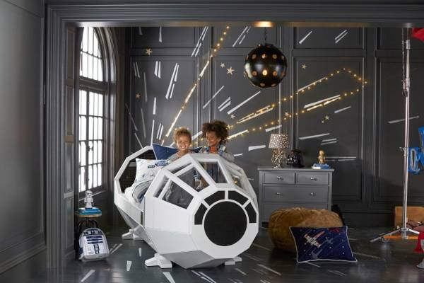 Fifteen Star Wars Rooms To Inspire Your Kids Rooms Or