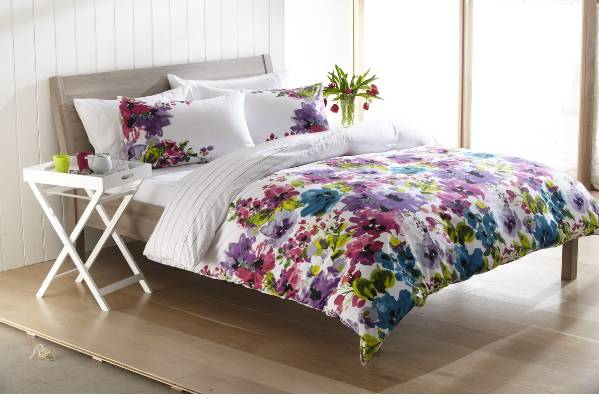 Flowers Butterflies Birds The Latest Fabric Styles Are