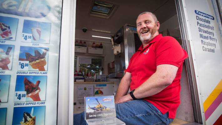 Ice Cream Van Man Challenges Mobile Competitors To Donate