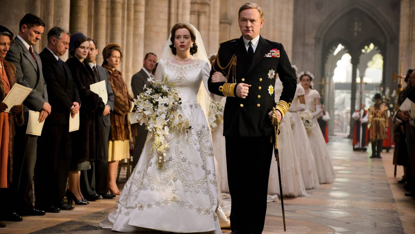 Queen Elizabeth Hochzeit The Crown Depicts Queen Elizabeth Ii S Wedding As Anything But A