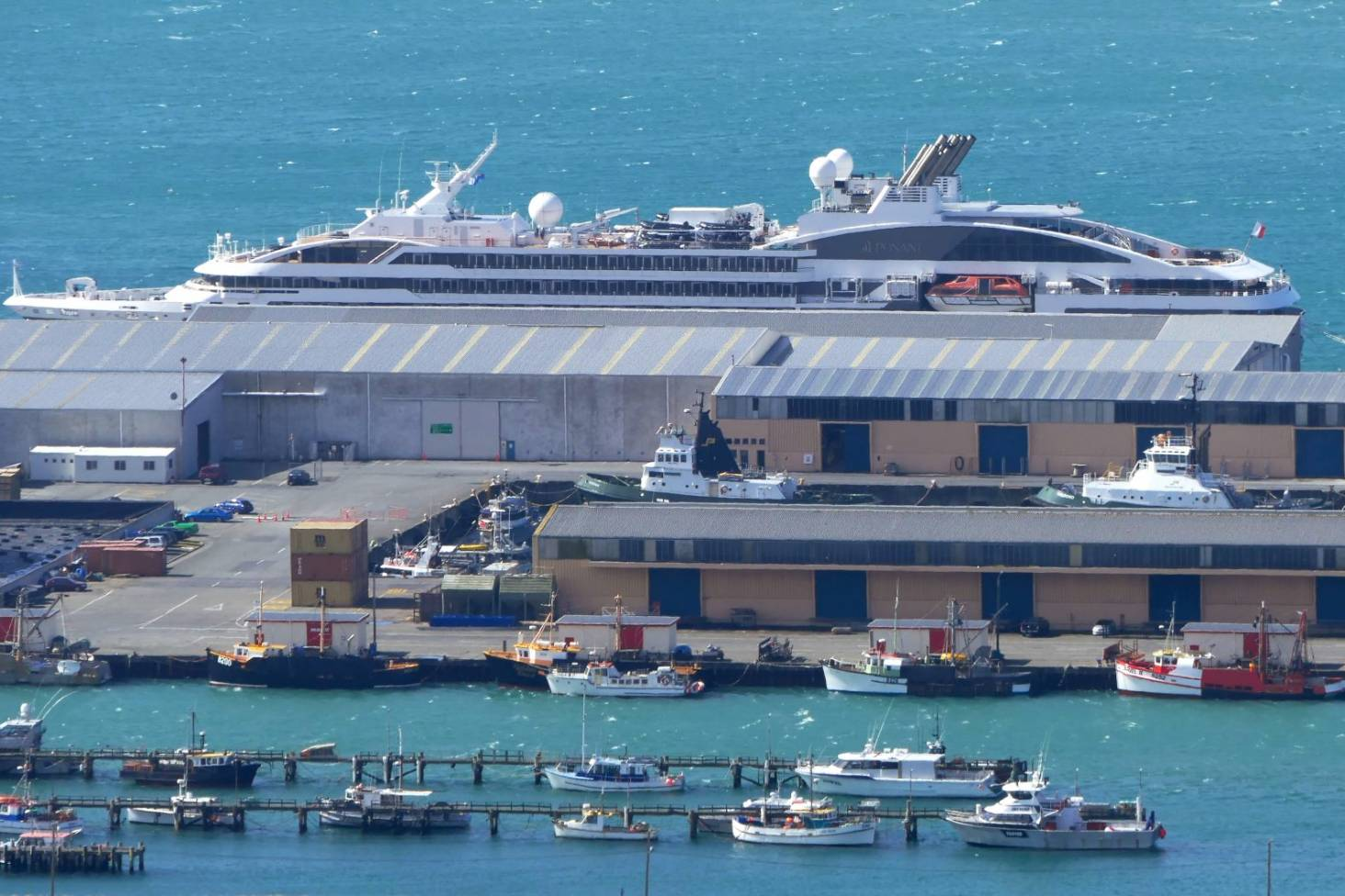 Ms Artania Creating A New Destination For Cruise Ships In Bluff Stuff Co Nz