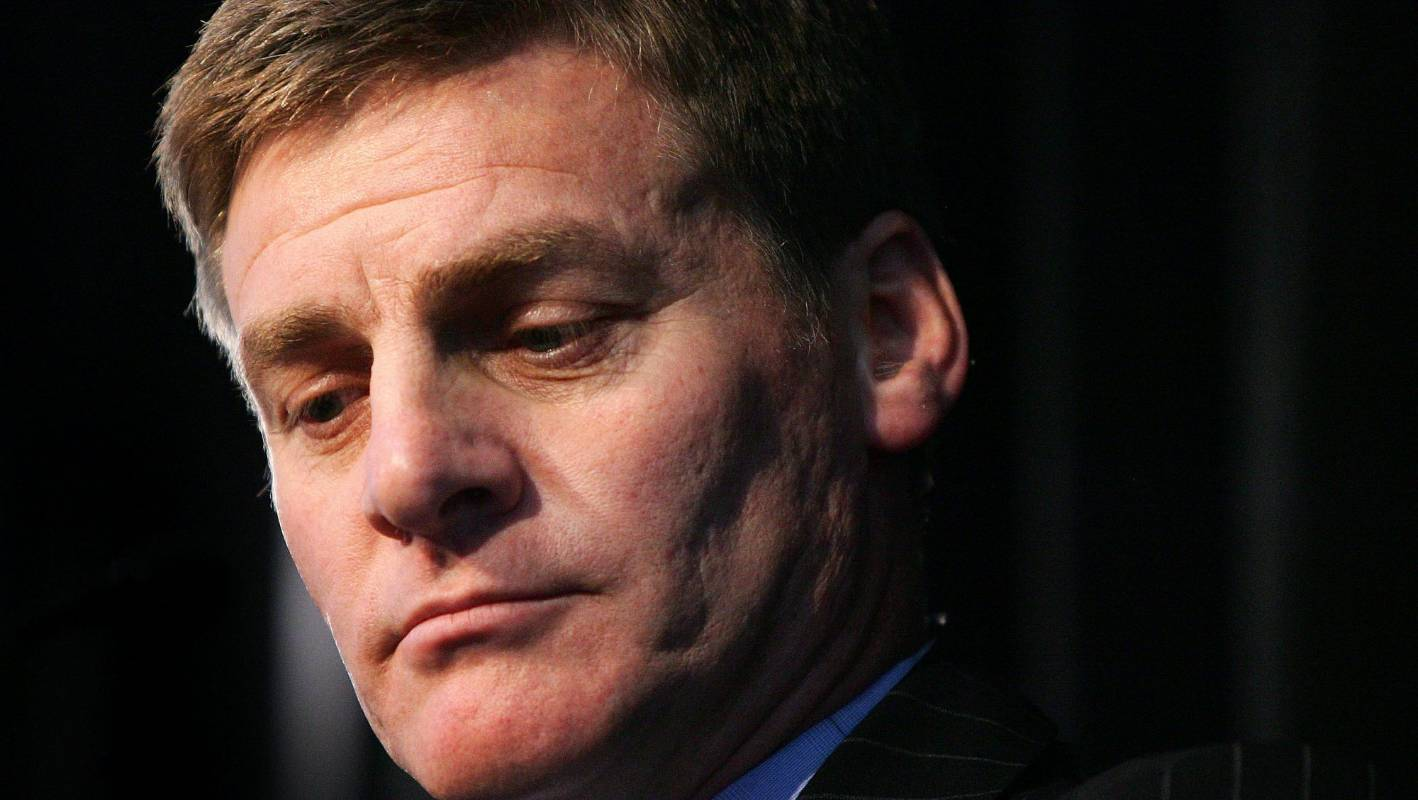 Teary And Emotional Bill English Calls It Quits Now