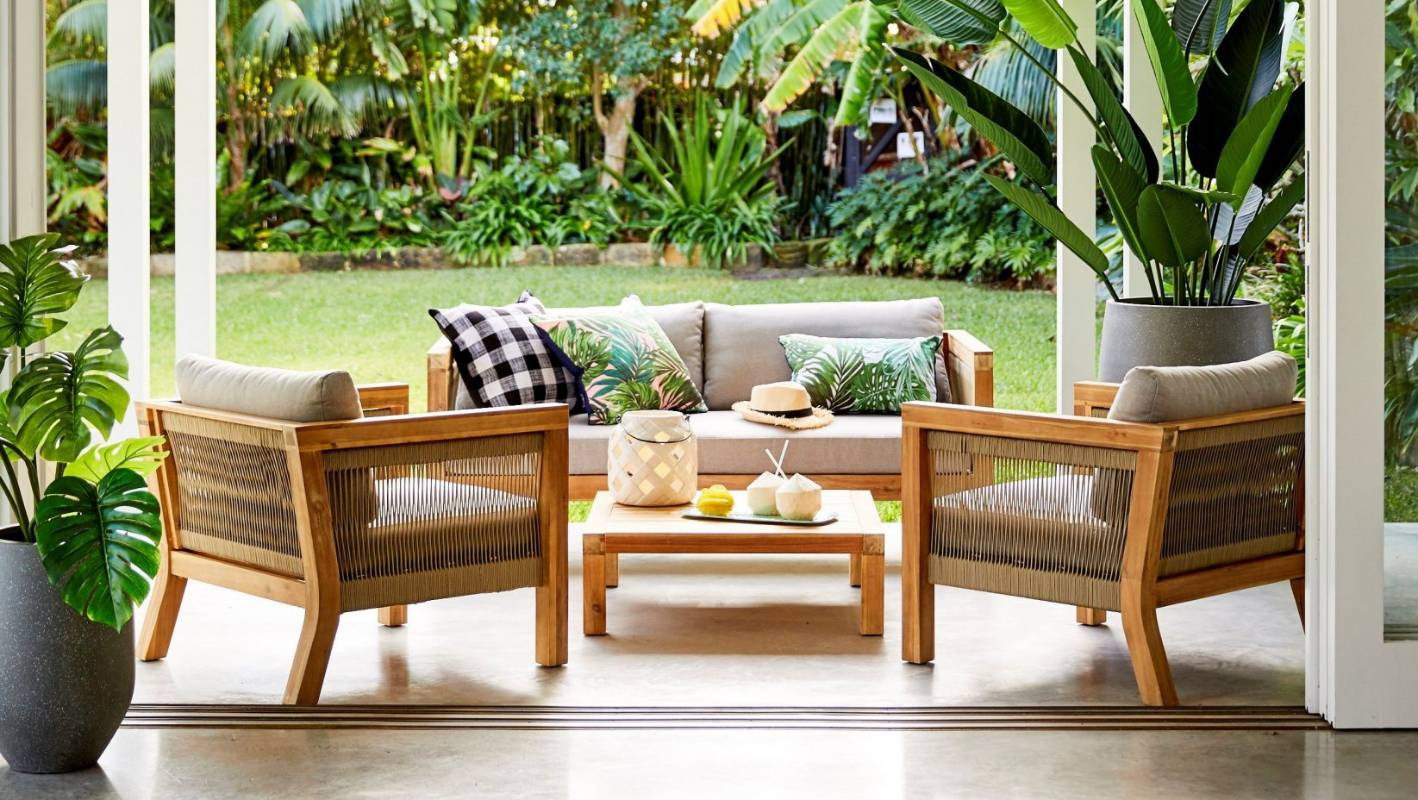 Outdoor Lounge Nz Outdoor Furniture So Luxe You Ll Want It For Inside Stuff