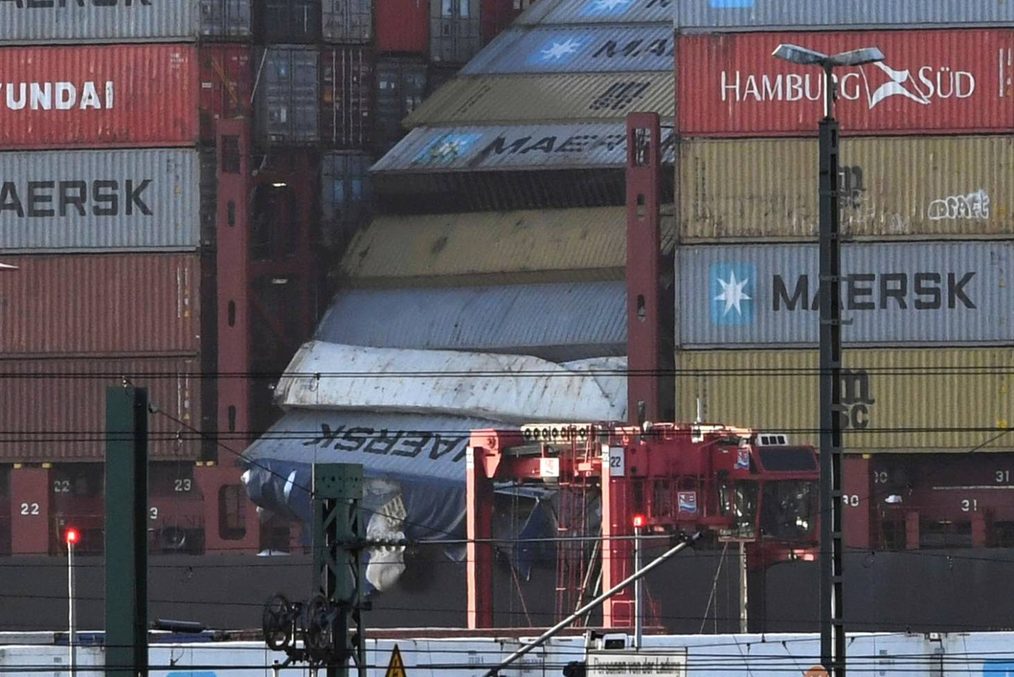 Container Oldenburg Tvs Toys Wash Up But Search Is On For Toxic Cargo And Containers