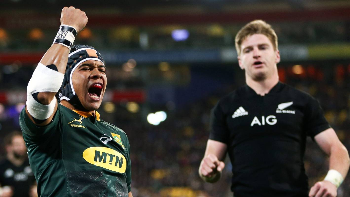 Springbock Hocker All Blacks Worrying Over Springboks For Rugby World Cup Claims