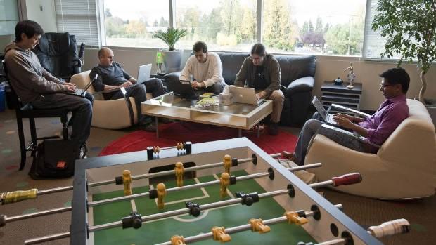 It\u0027s not all fun and games in an office of putt-putt fanatics - office fun games