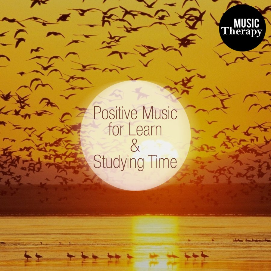 Listen to Music Therapy: Positive Music for Learn \u0026 Studying Time. Pacefull, Brain Concentration, Work Efficiency, Relaxing \u0026 Study with New Age Songs by ...