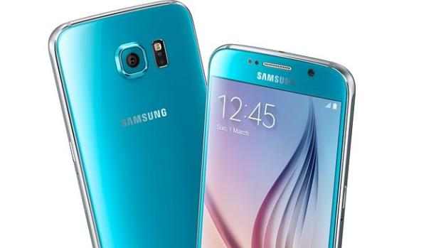 Fresh look ... Samsung's Galaxy S6 now comes in more than just white and black.