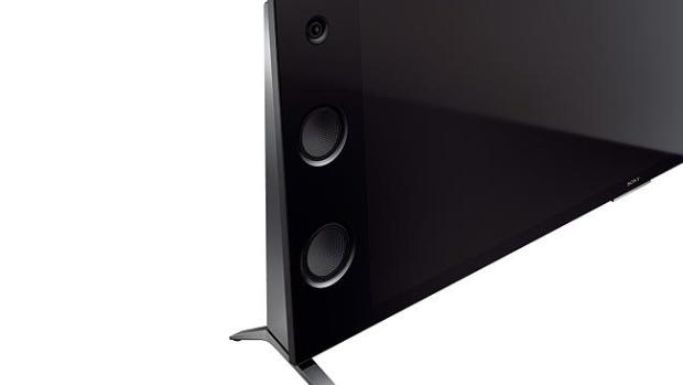 Speakers built-in ... Sony's Bravia X9400C offers speakers built into the side of the TV.