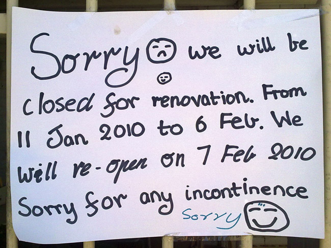 The 25 Funniest \ - holiday closure sign template