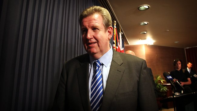 My Message to Barry O'Farrell, who's set to wield the axe through the public service