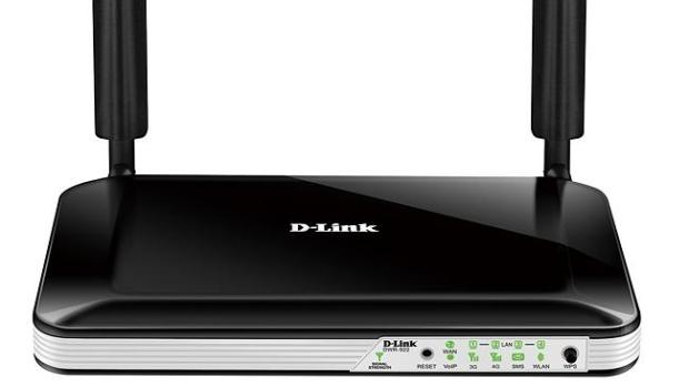 Portable hotspot ... D-Link's DWR-922 router features a SIM card slot to create a mobile