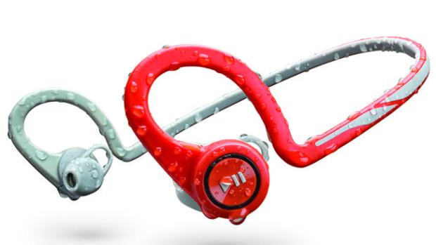 Now waterproof ... The new Plantronics BackBeat Fit headphones are waterproof for running