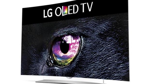 New look ... LG's 4K OLED TVs have a new look.