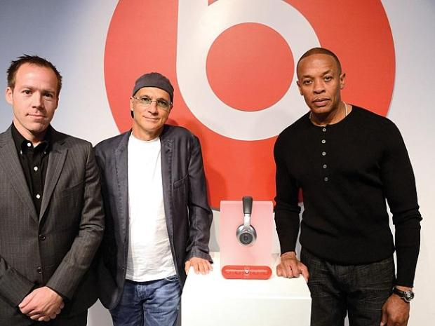 Luke Wood, Jimmy Iovine and Dr Dre — the three men changing music.
