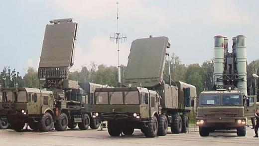 Iron dome ... The S-400 missile system is intended to protect troops and key facilities f