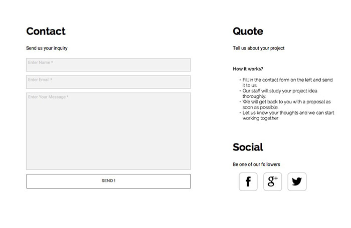 Muse Responsive Contact Forms - Responsive Muse - Templates  Widgets