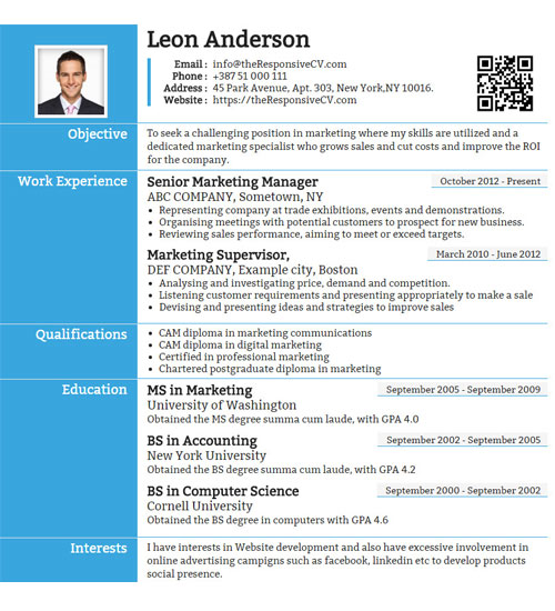 how to make an awesome resume free