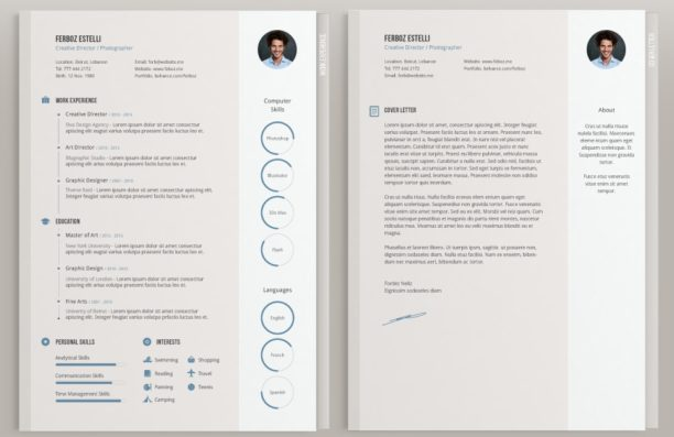 template cv html gratuit simple