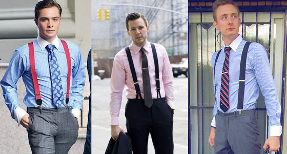 Suspenders for the Wall Street Look
