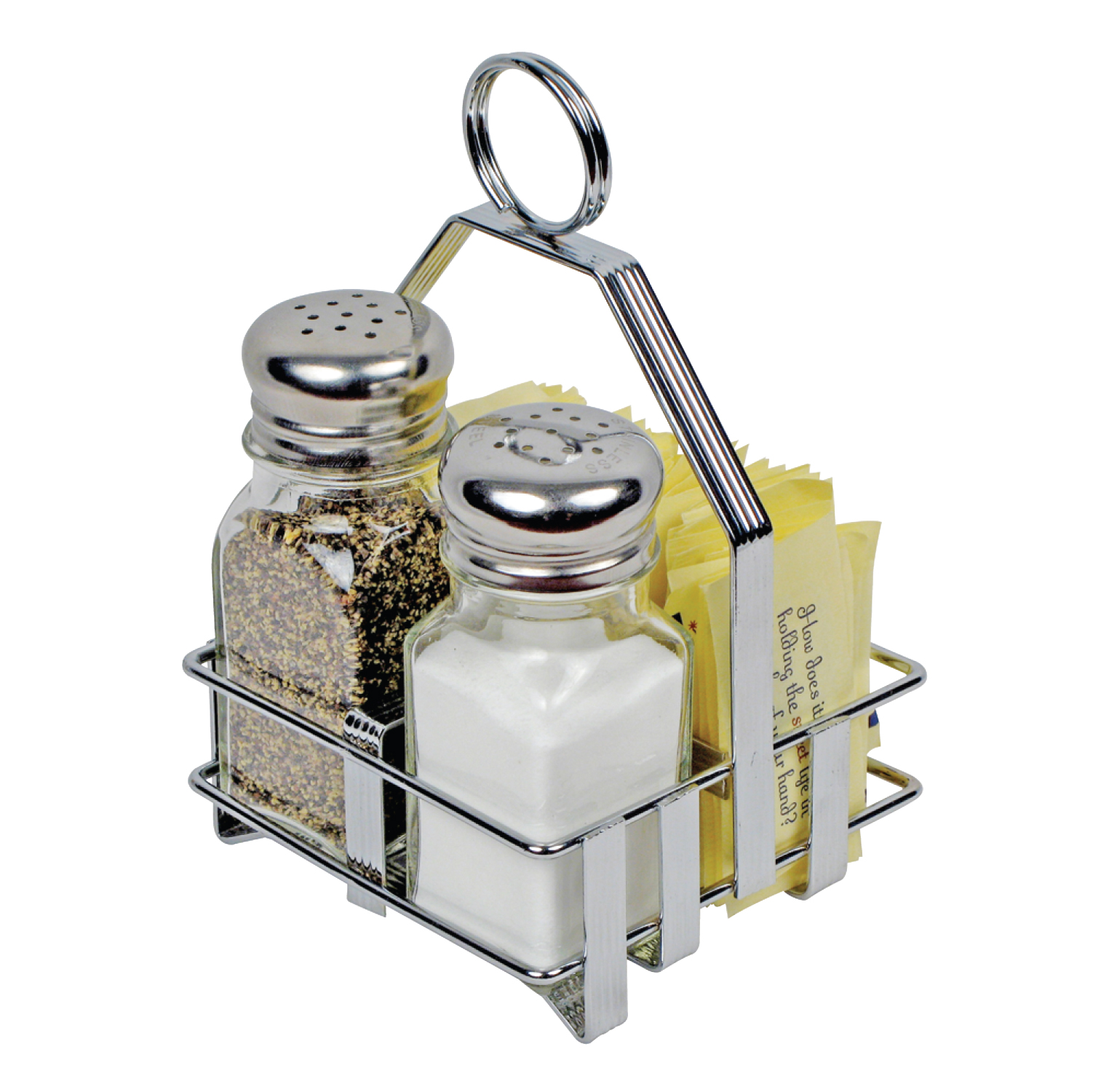 Salt Pepper Holder Chrome Plated Holders Salt And Pepper Shakers And Sugar