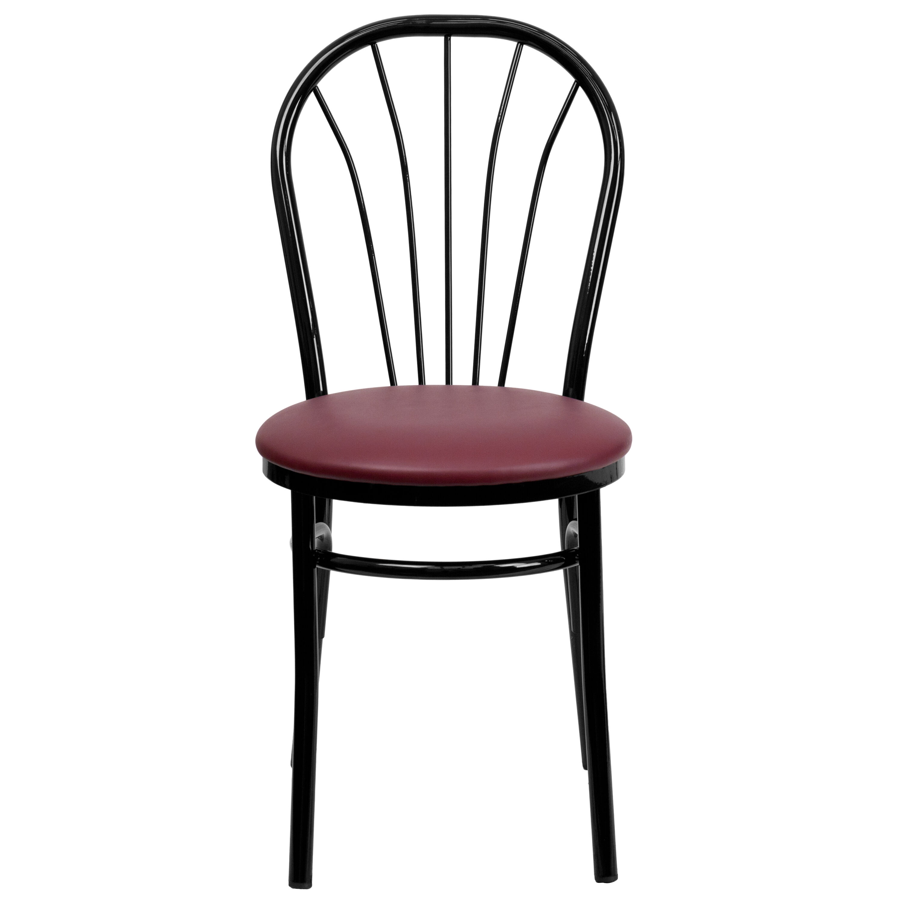 Restaurant Chairs Black Fan Chair Burg Seat Bfdh 706698 By Tdr