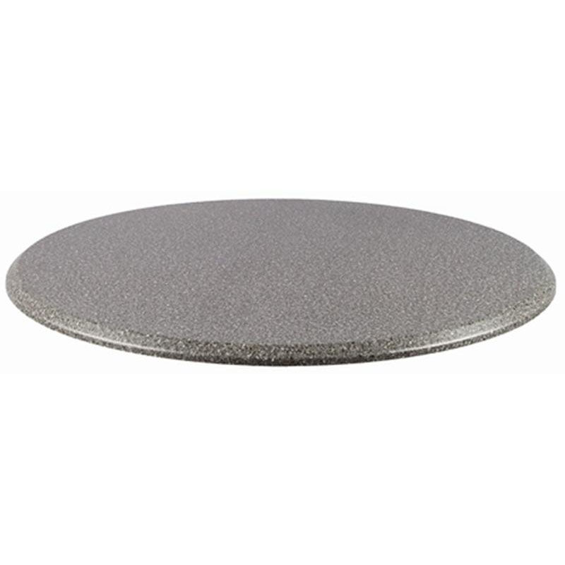 Topalit Topalit Round Table Top 42 Rnd Blk Gran