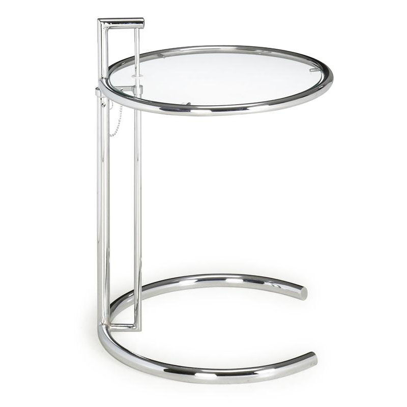 Eileen Gray Table Eileen Gray Side Table In Chrome