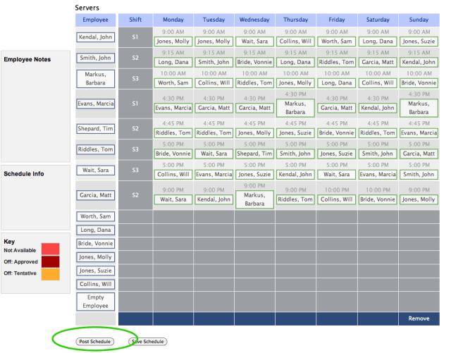 Audit Schedule Template 6 Free Templates Improving Restaurant Management
