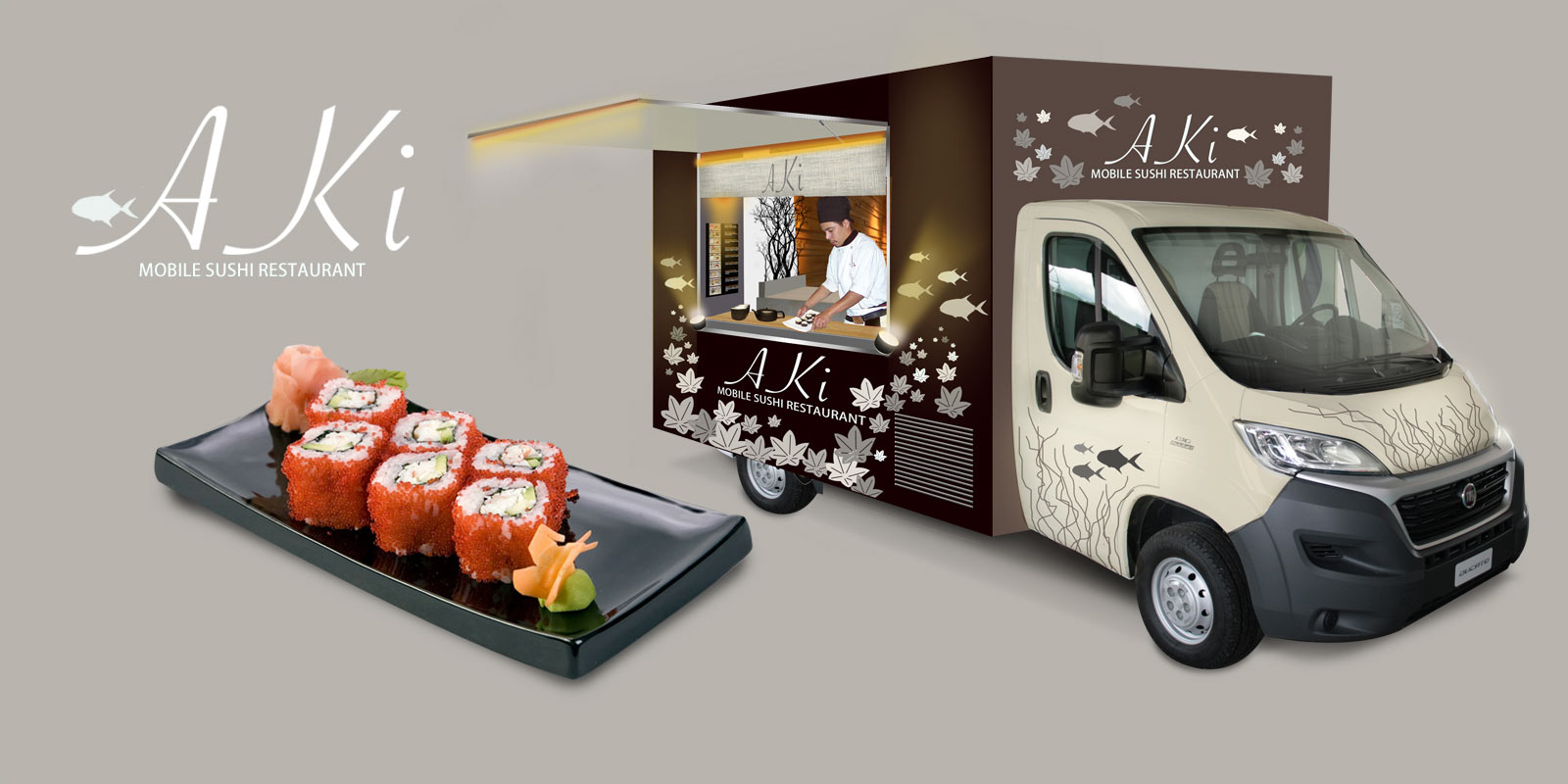 Japanese Cuisine Food Truck Food Truck Resti Spa Extensive