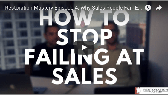 How to Stop Failing at Sales
