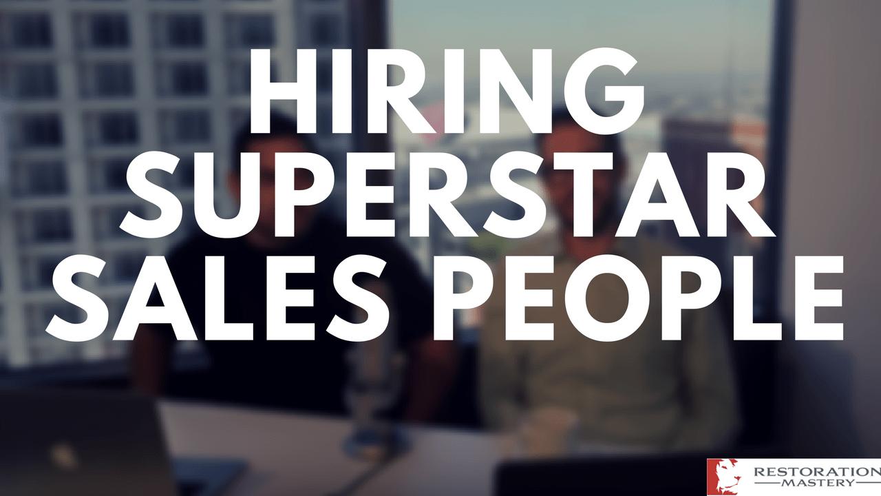Hiring Superstar Sales People! (RMTV 12)