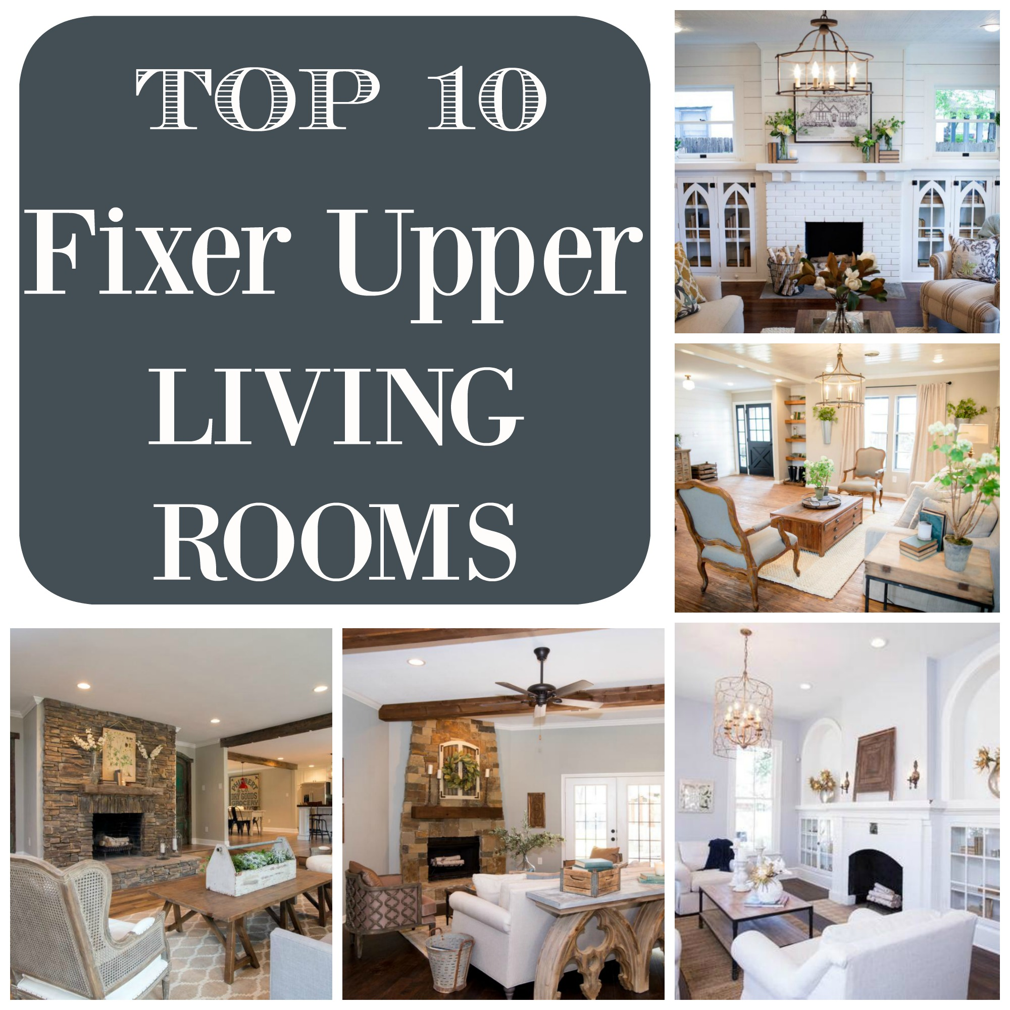 Facebook Wohnzimmer Live Top 10 Fixer Upper Living Rooms Daily Dose Of Style